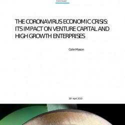 Coronavirus – impact on venture capital and high growth enterprises